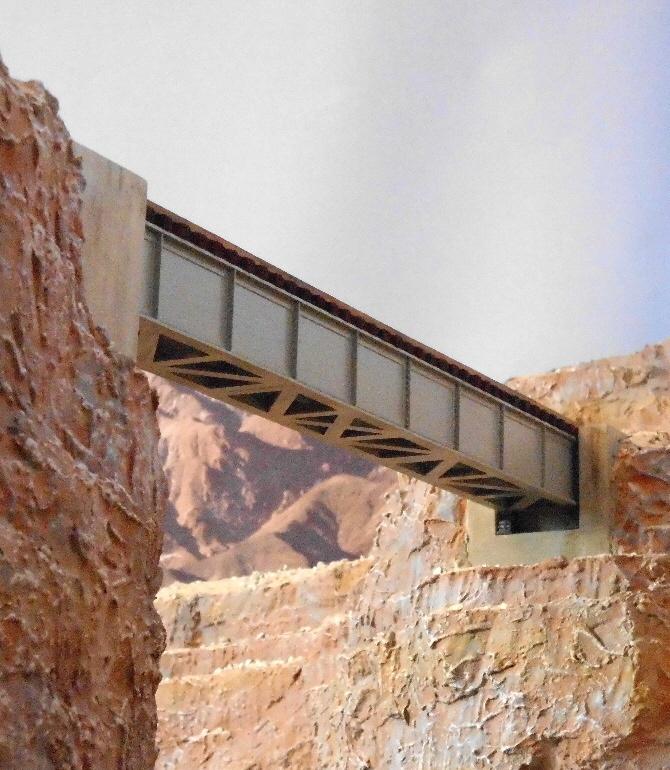 Bausatz Kastenbrücke in gemieteter Ausführung