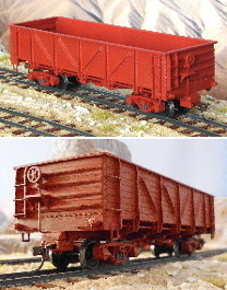 Spur 0n30 Bausatz Drop Bottom Composite Gondola Car 1:48