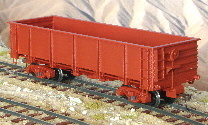 Spur 0n30 Bausatz Drop Bottom Steel Gondola Car 1:48