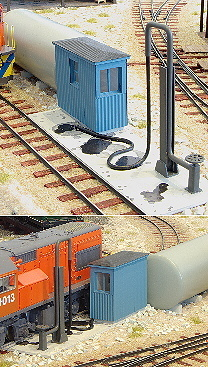 Spur 0 Bausatz Diesel Fueling Facility 1:48